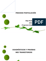 proceso postulacion 2011