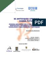Agenda de innovación 2 Antioquia