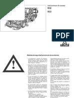 Deutz 912 913 Manual Del Operador