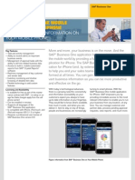 SAP Business One Mobile Application for iPhone
