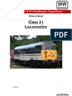Class 31Drivers Manual Wirksworth Part 1