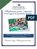 Dossier Capacitación_Verano 2011- 1er  Ciclo Básica