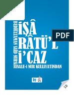İşaraül-'İcaz - Risale-i Nur Külliyatı - Ebook Reader için Pdf 800x600