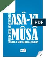 Asa-yı Musa - Risale-i Nur Külliyatı - Ebook Reader için Pdf 800x600