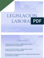 Legislacion Laboral en Guatemala