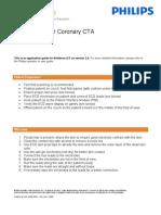iCT Coronary CTA Workflow Version 3