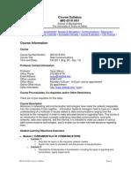 UT Dallas Syllabus for mis6316.0g1.11f taught by Syam Menon (sxm021300)