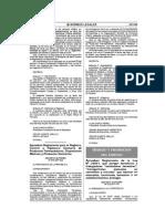 Reglamento para el registro, control y vigilancia sanitaria de productos farmacéuticos, dispositivos médicos y productos sanitarios