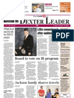 Dexter Leader Front Page Aug. 11, 2011