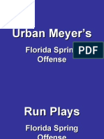 Urban Meyer Florida Offense