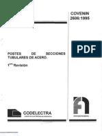 Postes Tubulares de Acero 2606-95