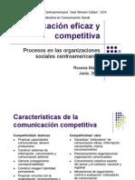 Comunicacion Eficaz y Competitiva en Centro America 2008