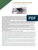 Importancia de la cuenca del Canal de Panamá
