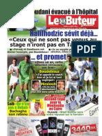 LE BUTEUR PDF du 11/08/2011