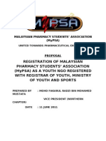 Proposal MyPSA as Youth NGO