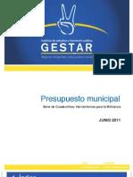 Cuadernillo Presupuesto Municipal