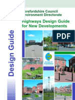 Highways Design Guide for New Developments