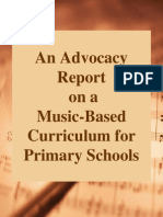 An Advocacy Report on a Music Based Curriculum Scribd
