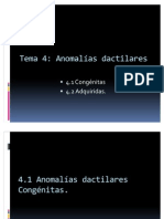 dacti anomalias dactilares.