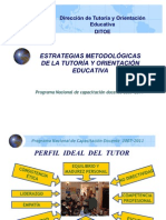 ESTRATEGIAS  METODOLÓGICAS  TOE