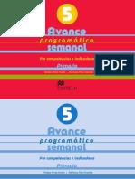 Avance Programatico 5