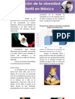 Epidemiologa Obesidad Infantil en Mxico