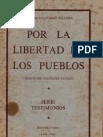 1962. Andrés Townsend. Por La Libertad de Los Pueblos