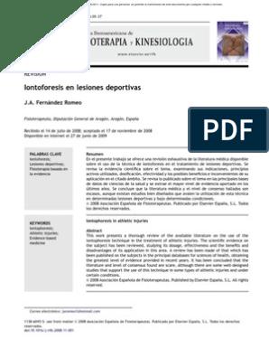 iontoforesis dexametasona y diabetes