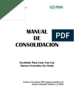 Manual de Consolidaci n
