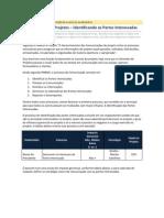 Comunicação em Projetos – Identificando as Partes Interessadas