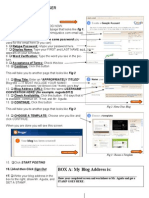 009 - Blog Signup and Blog Tutorial