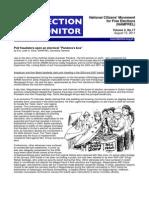 NAMFREL Election Monitor Vol.2 No.17 08102011
