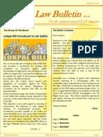 Abhyaas Law Bulletin- August 2011