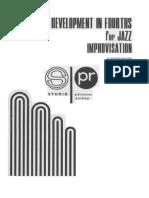 Ramon Ricker-Technique Development in Fourths for Jazz Improvisation