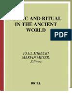 Mirecki Meyer Magic Ritual Ancient