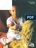 IRRI Annual Report 1999-2000