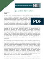SBPC - Revista Comciência - Floresta Amazônica Absorve Carbono