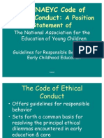 Ethics Code General Session