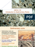 Intro to Sedimentary Rocks