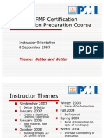 PMI-OC Instructor Orientation 2.3