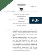 Rencana Pembangunan Jangka Menengah Daerah Kota Bandung (RJPMD) 2009-2013