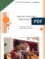 H2 H1 Scarcity Choice Opp Cost 2011