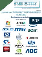 Catálogo Computadoras
