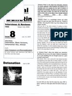 Metal Bulletin zine # 8