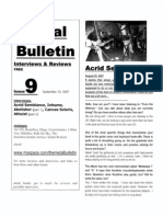 Metal Bulletin zine # 9