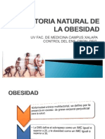 Historia Natural de La Obesidad