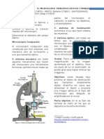 Informe No 1. Microscopio