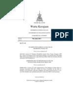Pewartaan Fatwa Kadar Zakat Fitrah Selangor 2011