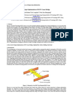 0192 Design Optimization of Eot Crane Bridge