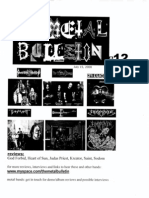 Metal Bulletin zine # 12